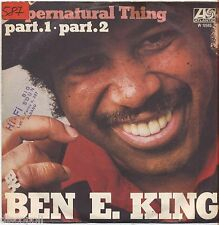 "BEN E. KING - Supernatural thing - VINYL 7"" 45 LP ITALY 1975 NEAR MINT/VG-"