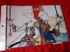 NEW! FINAL FANTASY V / A4 Size FILE FOLDER Yoshitaka Amano UK DESPATCH / RARE