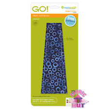 """55439 - New Accuquilt GO! Big & Baby 9"""" Wedge Fabric Cutting Die Quilting Sewing"""