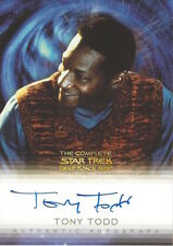 COMPLETE STAR TREK DEEP SPACE NINE DS9 AUTOGRAPH A21 Tony Todd as Jake Sisko