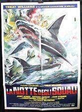 Manifesto 2F - La notte degli squali di Tonino Ricci, con Janet Agren
