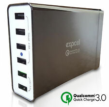 Extremely Fast Charger 6-Port USB Charger Multi-Port USB