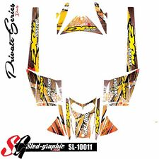 SLED WRAP DECAL STICKER GRAPHICS KIT FOR SKI-DOO REV MXZ SNOWMOBILE 03-07 10011