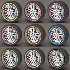 Rim Protector Rings Car Wheel Rims Tire Guard Line Rubber Kabis Korea 8M 9 Color