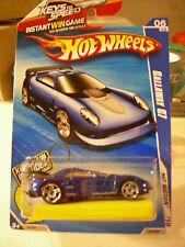 Hot Wheels Callaway C7 Hot Auction w/Bone Shaker Keychain, Blue!