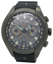 Citizen CC1076-02E Mens Eco-Drive Satellite Wave-Air Gray Titanium 50mm Watch