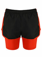 Women Jogging Running Football Gym Sports Breathable Shorts Casual Exercise