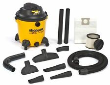 NEW 9633400 12 GALLON SHOP VAC WET DRY 6.5HP VACUUM CLEANER WITH BLOWER 4385316