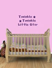 Twinkle Twinkle Little Star Nursery Bedroom Vinyl Wall Quote Decal sticker