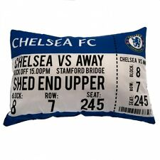 "NUOVO Chelsea ""Match Day"" Football Club Cuscino Cuscino Bambini Ragazzi fan regalo camera da letto"