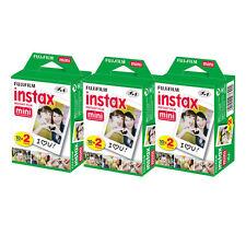 60 Prints Fuji Fujifilm Instax Instant Mini Film f/ SP-1, Neo 90, 8, 25, 50, 7s