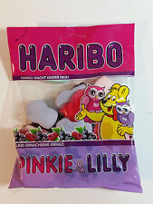 HARIBO PINKIE & LILLY - CANDY WINE GUMS 7oz - 200g - MADE IN GERMANY -