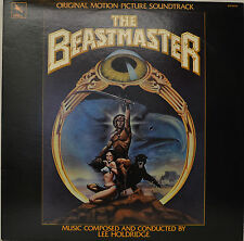 "OST - SOUNDTRACK - THE BEASTMASTER - LEE HOLDRIDGE  12""  LP (N264))"