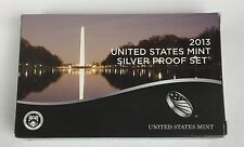 2013 S SILVER PROOF SET * ALL 14 * NEW Sealed COMPLETE Coins US Mint Original