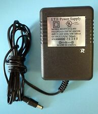 AC to DC Power Supply Adapter 120V AC In to 7.5V DC 700mA Out Great Tested OK
