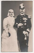Vintage Postcard  Queen Wilhelmina & Prince Henry of the Netherlands