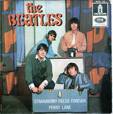 "The Beatles - Strawberry Fields Forever / Penny Lane  ua- Vinyl-Single 7"" EP FR."
