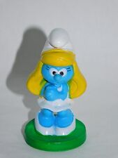 "2010 Peyo Bakery Crafts 2"" Smurf Cake Decorating Topper SMURFETTE Figure Ref-7"
