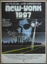 Escape From New York, Orig 1981 French Petite Film Movie Poster, Kurt Russell