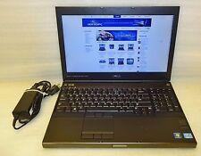 """Dell Precision M4700 Gaming laptop 2.70ghz core i7 8GB 240gb SSD Win 10 Pro 15"""""""