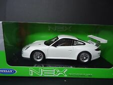 Welly Porsche 911 GT3 Cup White 1/18