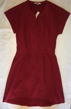 Madewell Dress 4 e1518 Silk Fable Dress Red Juniper Berry NWT $148 Sold Out