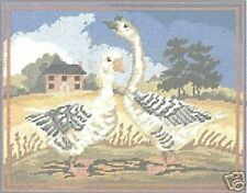 """Geese Tapestry/Needlepoint Canvas - DMC - 14.8"""" x 11.75"""""""