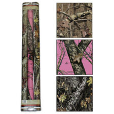 MOSSY OAK GIFT WRAPPING PAPER - CAMOUFLAGE CAMO, NEW BREAK UP, INFINITY, PINK