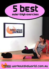 Barre Toning EXERCISE DVD - Barlates Body Blitz - 5 Best Outer Thigh Exercises!