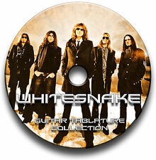 WHITESNAKE ROCK METAL GITARRE ETIKETTEN TABLATURE LIED BUCH ANTHOLOGY