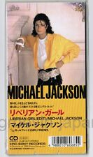 "Sealed MICHAEL JACKSON Liberian Girl(edit) /Girlfriend JAPAN 3"" CD 10.8P-3077"