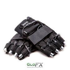 GloFX LZR Laser Gloves – Green Laser Beams Rave Party Lightshow LED Palm Lights