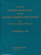 Combination Mails of the British Foreign Post Office, Paul J. Kornan Collection