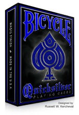 Bicycle Quicksilver Playing Cards 1 Deck New Sealed RARE