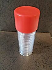 ONE T Model Type Coin Capsule Storage Tube & 20 x 30.6.mm Direct Fit capsules