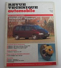 Revue technique automobile RTA 551 Renault espece 04/1991 -