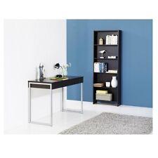 Schreibtisch Function Plus Konsolenschreibtisch PC-Tisch schwarz 3 Schubladen