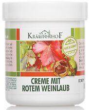 Krauterhof Crema vite rossa gambe piedi stanch250ml pomata balsamo 4075700044520