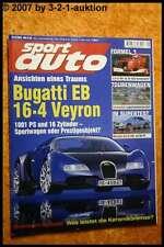 Sport Auto 5/01 Bugatti EB 16-4 Veyron AMG SLK 32