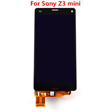 LCD Screen Touch Digitizer Assembly  For Sony Xperia Z3 Mini Compact D5803 Black
