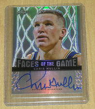 2013 Leaf Metal Basketball on-card autograph Faces/Game Chris Mullin 35/50