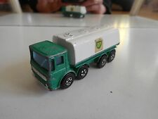 "Matchbox Superfast Ergomatic Cab Petrol tanker ""BP"" in Green/White"