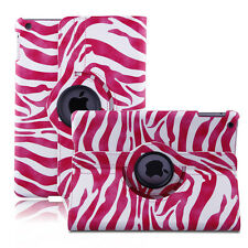 360 Rotating PU Leather Smart Case Cover Stand For Apple iPad 2 3 4/Mini/Air/Pro