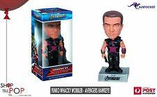Funko AVENGERS Hawkeye Wacky Wobbler BNIB 7 inch Bobble head Figure Marvel