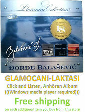 CD DJORDJE BALASEVIC -THE PLATINUM COLLECTION 2010 Digipak serbia city records