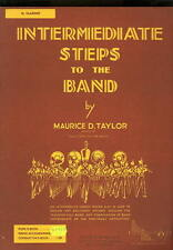 Intermediate Steps to Band B Clarinet Maurice Taylor Music Book