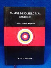 LIBRO MANUAL DE BOLSILLO PARA SANTEROS por Marcelo Madan religion yoruba ifa