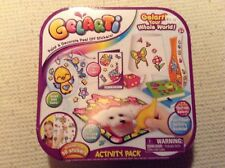NEW GELARTI ACTIVITY PACK PAINT & DECORATE STICKERS 50+ STICKERS-NO RESERVE!!!
