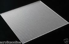 Acrylic Clear K12 Prismatic 1190x290x2.8mm Light Diffuser Panel High Quality