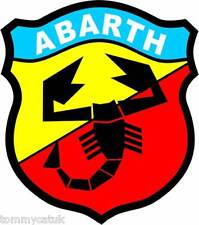 Motorsport Decals Classic Cars Italian Abarth Car Stickers Blue